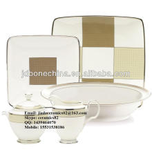 espresso new designed best sale royal bone china ceramic home brand melamine dinnerware