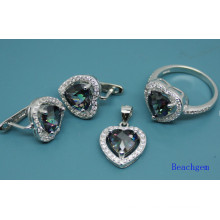 Mystic Cubic Zirconia Fashion Jewellery Set (S3307)