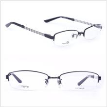Титановые рамы / Полудрагоценные очки / Мужские стили (8684)