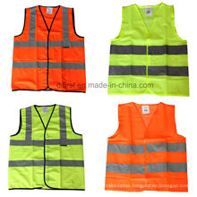 Safety Vest with Hi Visibility Reflective Tape