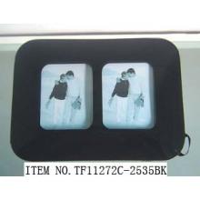 Red einfach gebogenes Glas Fotorahmen