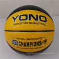 Guangzhou YONO brand name basketball pu leather basketball ball