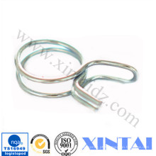 Mola pequena da braçadeira do formulário do fio de metal do preço de fábrica