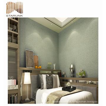 cobertura de parede decorativa do quarto do vinil impermeável