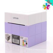 Suporte de tecido plástico criativo Cube Design (ZJH024)