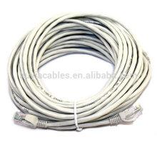 Precio de fábrica 50m Cat5e UTP 24AWG rj45 cable del remiendo Cable de Lan
