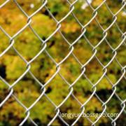 Sport Galvanized Chain Link Fence Diamond Wire Mesh