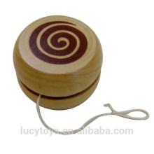 Clássico brinquedo de madeira barata yoyo brinquedo