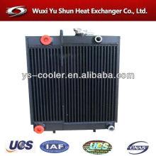 Radiateur à ailettes en aluminium avec réservoir / radiateur partie eau