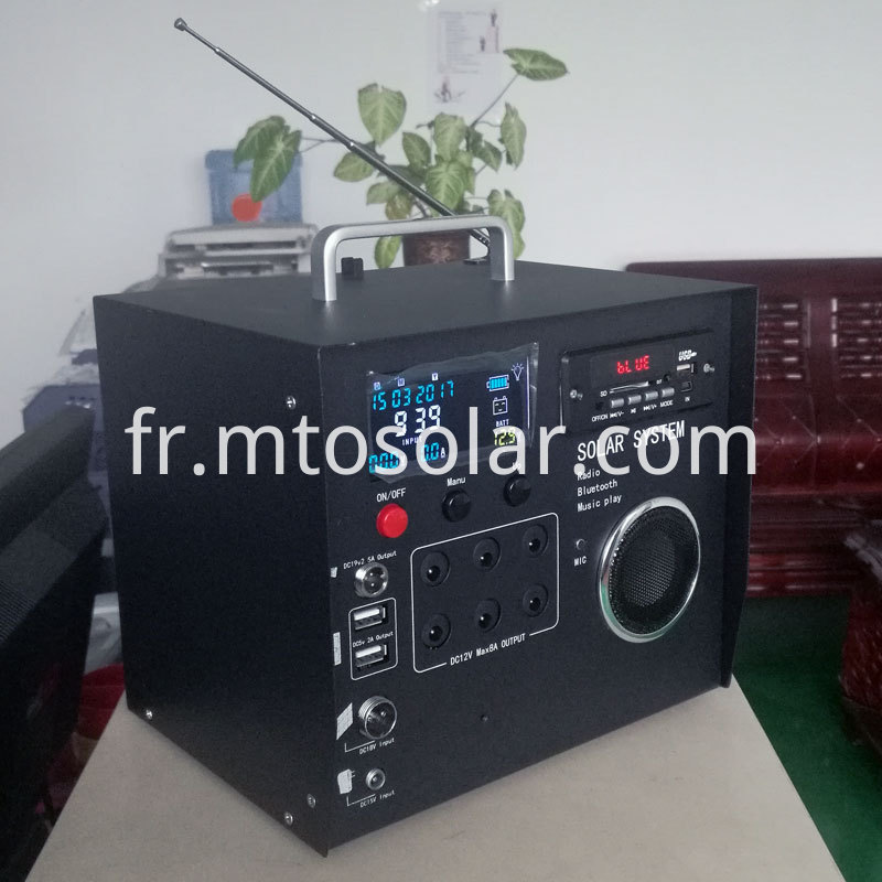 40w solar radio kit with calendar