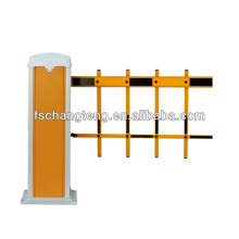 automatic beam barrier with 2 fence boom