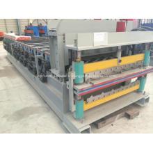 Machine de tôle d'acier ondulée hydraulique en métal ibr
