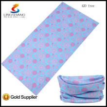 Bandana de moda al por mayor barata caliente en venta bandana de tubo sin costura multifuncional de microfibra elástica