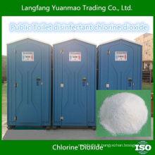 Tablette de dioxyde de chlore rentable pour toilette portable
