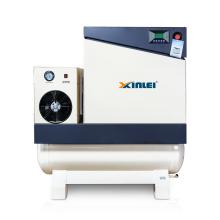 XLAMTD7.5A-20A high duty all in one screw air compressor with dryer tank