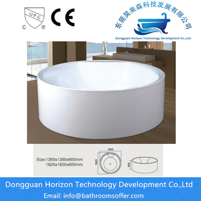Circular Freestanding Tub