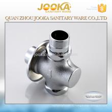 Прочный ручного управления кнопочный общественный туалет латунь сливной клапан