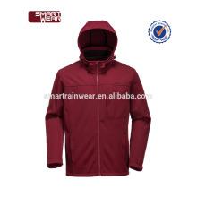 Gros hiver en fibre de carbone softshell chauffé veste imperméable