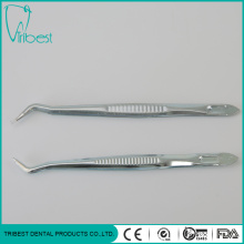 Disposable Full Metal Dental Tweezer