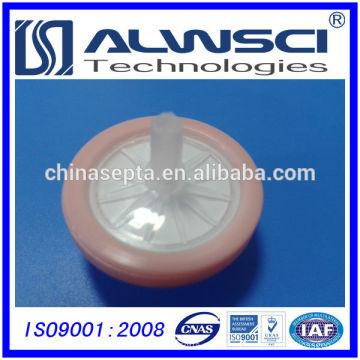 25мм Шприцевые фильтры Гидрофильной PTFE 0.22 мкм Размер пор