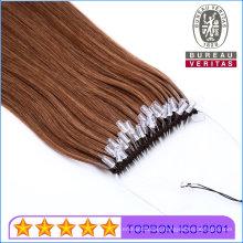 Natural Look Knot Thread Hair Extension Easy Pull Style Hair Virgin Brazilian Human Hair