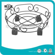 Rack de latão de gás metálico, rack de cilindro de gás, suporte de cilindro de gás, suporte de jar