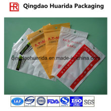 Zippper Gravure Printing Plastic Apparel Packaging Bags with Customer Logo