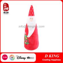 New Design Santa Claus Presentes de Natal Brinquedos Recheados