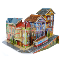 3D High Street Puzzle