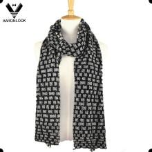 Inverno alta qualidade moda personalizado malha cachecóis