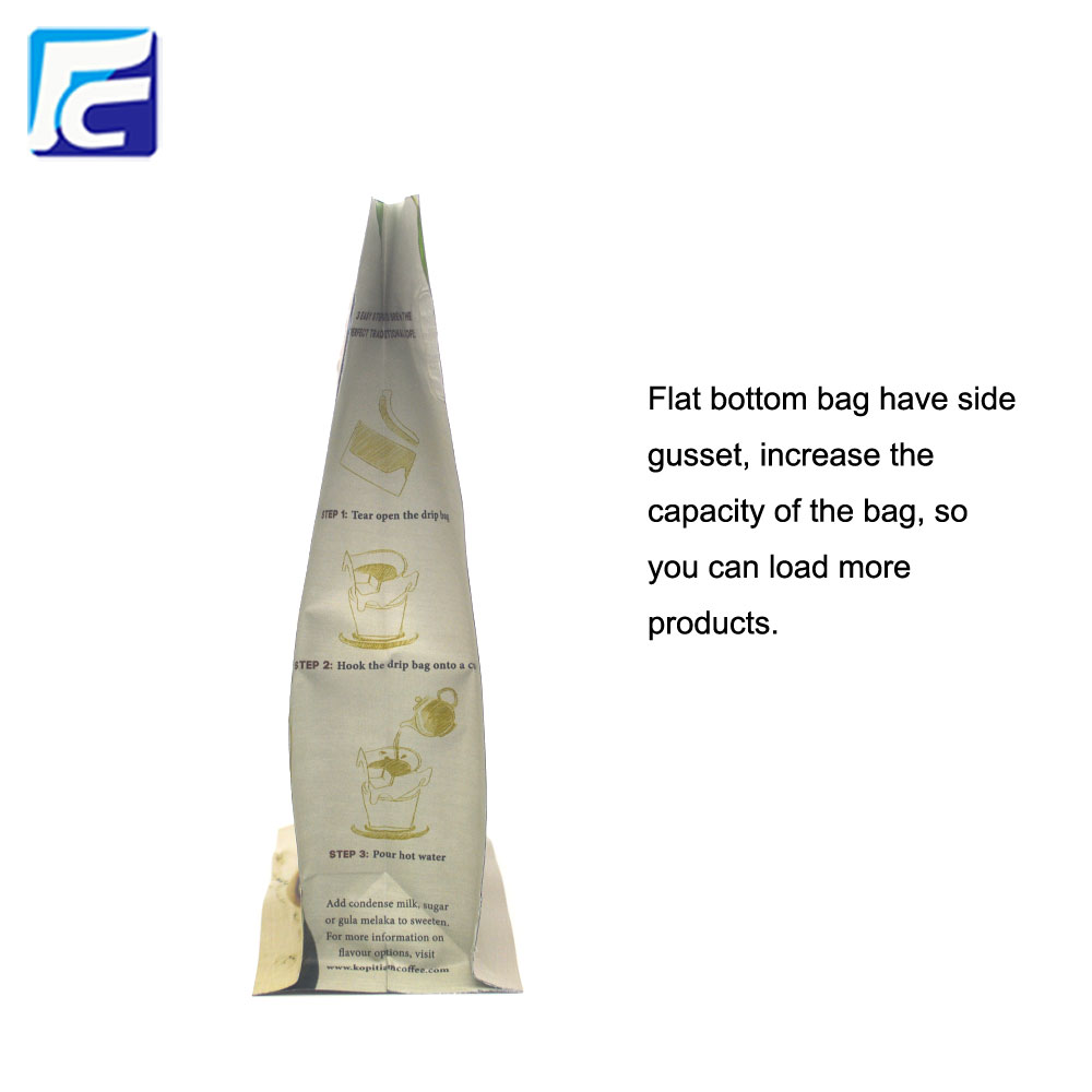 Aluminum Foil Gusset Coffee Bag
