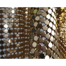 Paño metálico / cortina del acoplamiento del metal / paño del cequi del metal