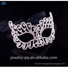 Hochwertige Kristall billige Party Masken, Halloween Maske, Zombie Maske