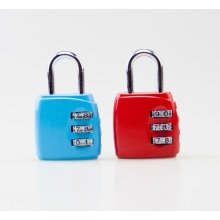 Red and Blue Zinc Alloy Lock