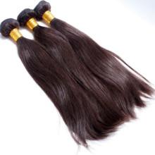 Extensiones de cabello de trama doble de la máquina, producto caliente de la peluca brasileña 2015