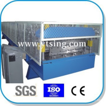 Pass CE and ISO YTSING-YD-6634 Automatic Control Double Layer Roof Panel Roll Forming Machine