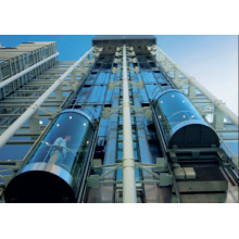 outdoor high building passenger sightseeing elevator observation lift panoramic lift elevators for hotel
