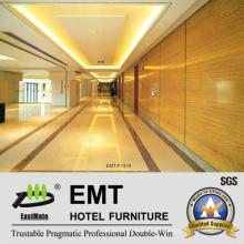 Painel de parede de madeira do utilitário Nice Hotel Public Area (EMT-F2015)