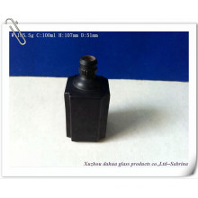 100ml Glass Wine Bottles with Matte Finish Surface