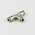 Union Cross  Pneumatic Brass Push-in Fitting