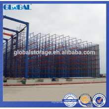 Hot selling dexion compatible blue and orange pallet racking