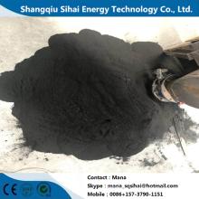 Noir de carbone de la machine de craquage en plastique de chauffage