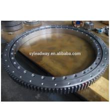 Rolamento de giro dos equipamentos de construção da precisão da rotação de 360 graus para compressores