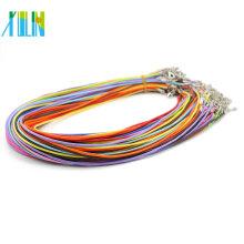 Fermoir de homard de couleur de mélange de 1.5mm 2.0mm 19inch réglable pour le collier pour des pendants, ZYN0002