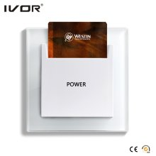 Energy Saver Key Card Power Switch Estrutura de vidro Hr-Es1000-Gl