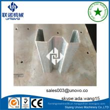 Perfil sigma de aço estrutural