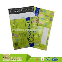 Adhesivo autoadhesivo respetuoso con el medio ambiente del fabricante Sobres polivinílicos del bolso del diseño de encargo Envío plástico Envío postal