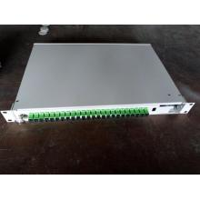 Purchasing for Rack Mount Optical Fiber Enclosure 24 ports SC/APC Rotating type Fiber Box supply to Chad Supplier