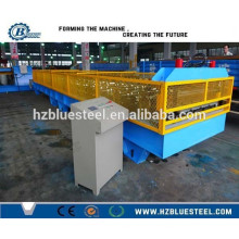 Corrugated Sheet Roofing Panel Roll Forming Machine, Aluminium Roofing Sheet Metal Making Machine With Safty Cover