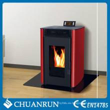 Pequeña estufa de pellets de madera lugar de fuego para la venta